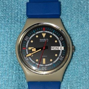 CALYPSO DIVER Collectible 1985 Swatch Watch